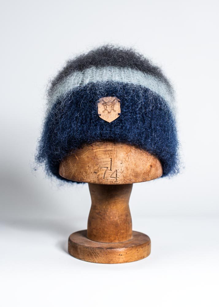 Ministry of Knits - Blauw brushed